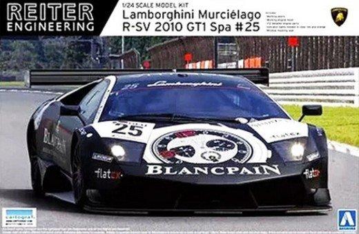 00717 No 14 Lamborghini Murcielago R Sv 2010 Gt1 Spa No 25 Reiter