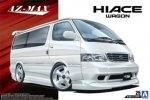 Aoshima 05356 - 1/24 Azmax KZH100 Hiace '99 (Toyota) The Tuned Car No.25