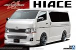 Aoshima 05359 - 1/24 Silk Blaze TRH200V Hiace Veriii '10 (Toyota) The Tuned Car No.28