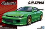Aoshima 05451 - 1/24 Rodextyle S15 Silvia 1999 Nissan The Tuned Car No.42