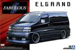 Aoshima 05452 - 1/24 Fabulous APE50 Elgrand '00 (Nissan) The Tuned Car No.43