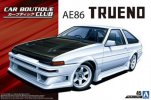 Aoshima 05512 - 1/24 Car Boutique Club Toyota AE86 Trueno 1985 The Tuned Car No.45