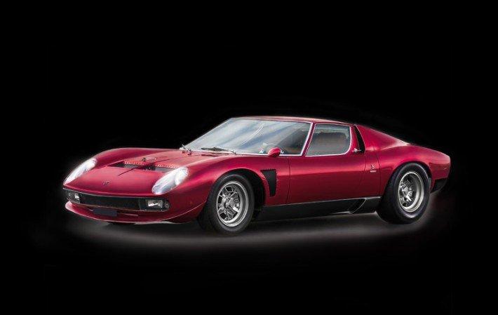 3649 Lamborghini Miura Jota Svj Italeri 1 24