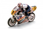 Kyosho 3021 - 1/8 SCALE EP MOTORCYCLES HANGING ON RACER - HONDA NSR500