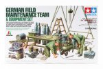 Tamiya #37023 - 1/35 German Field Maintenance Team and Equipment Set