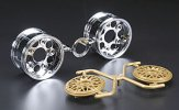 Tamiya #50549 - 2-piece Wide Mesh Wheels *2